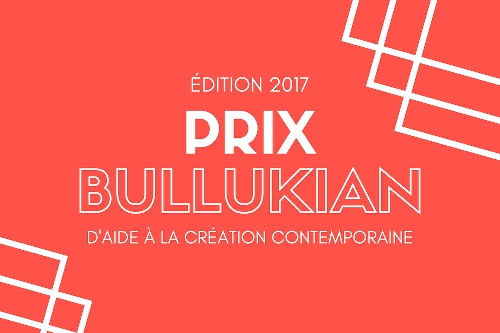 Prix Bullukian d'Aide à la Création Contemporaine