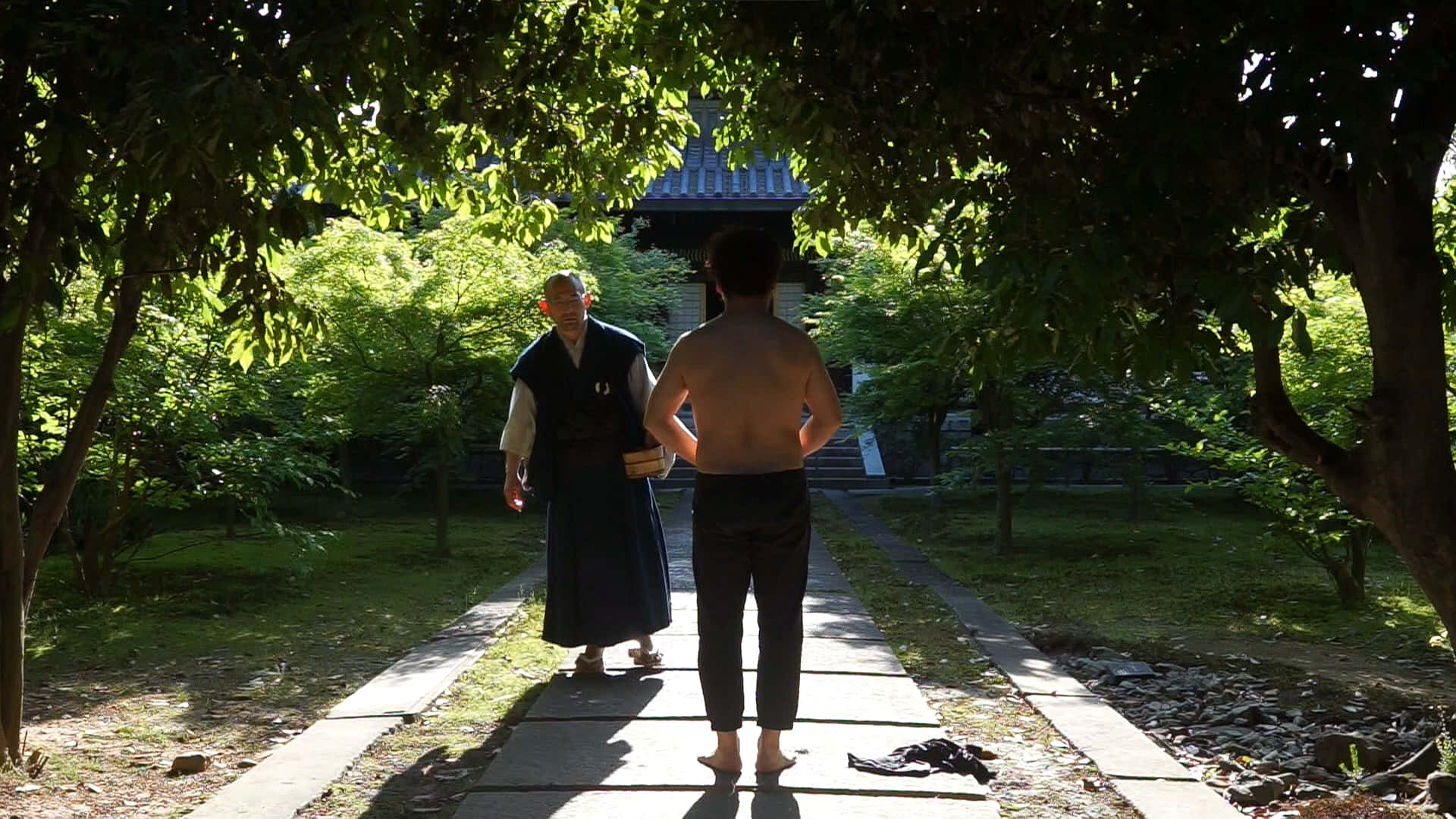 "Still from ""Untitled Passing"", by Daisuke Takeya."