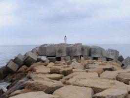 O andre a ver o mar