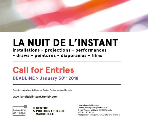 LA NUIT DE L'INSTANT – call for art projects