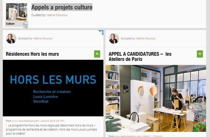 Appels a projets culture