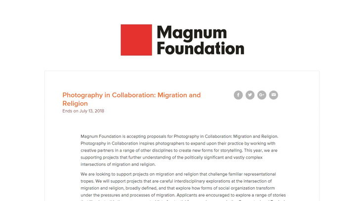 Photography in Collaboration: Migration and Religion