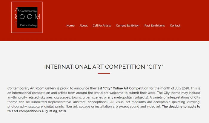 "INTERNATIONAL ART COMPETITION ""CITY"""