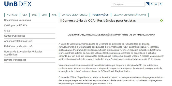 EDITAL DE RESIDÊNCIA PARA ARTISTAS DA AMÉRICA LATINA