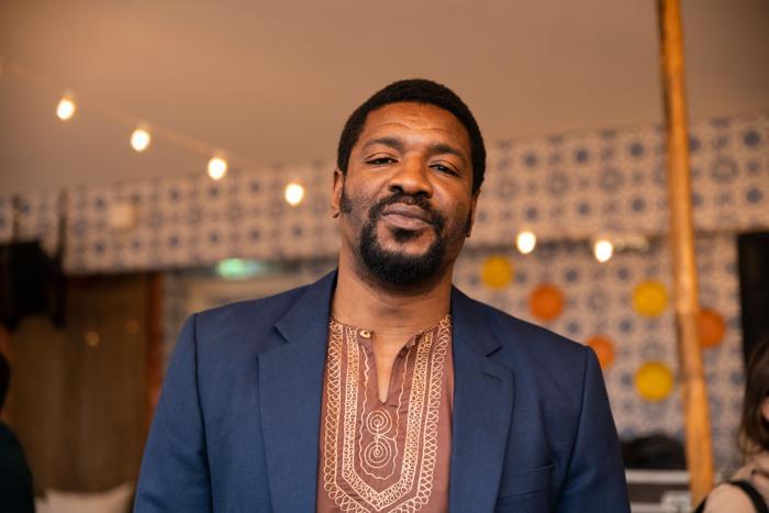 Portrait of Emeka Ogboh.