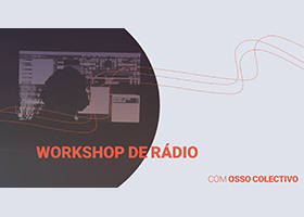 Foto de capa do workshop de rádio.