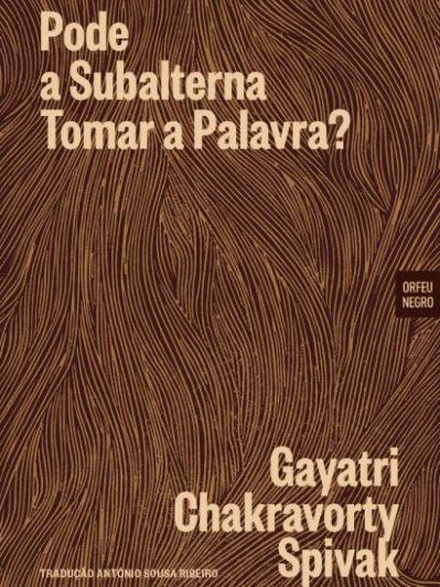 """Capa do livro """"Pode a Subalterna Tomar a Palavra?"""""""